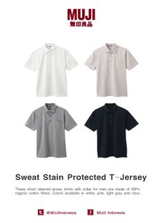 Short sleeved men polo shirt. Made from 100% organic cotton. Colors available in white, green, blue and black.