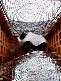 Frank Gehry 1989 Laureate, DZ Bank, Berlin, Germany, 1999
