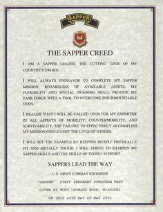 Sapper Creed: