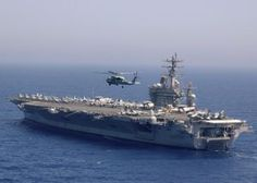 My daughter's ship, the USS Dwight D Eisenhower. :)