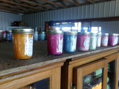 Amish pretty country candles, smell great.