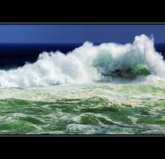 Crashing Wave in Acadia