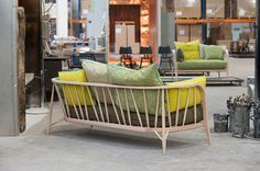 Nest Sofas by Paola Navone for Ercol at Maison & Objet 2015 | Yellowtrace