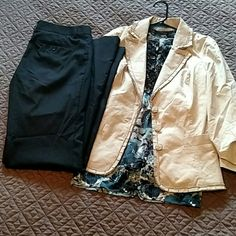 Express Editor Pants Size 4L Good condition Express Editor pant size 4 long.  These were my favorite pants when I was working so cute, comfortable and flattering.  Please see my other listings if you are interested in the blazer or shirt.  Thanks! Express Pants Trousers
