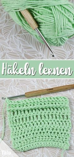 Learn to crochet - the basic instructions for beginners - Talu.de knitting for beginners knitting ideas knitting patterns knitting projects knitting sweater Knitting Patterns Free, Free Knitting, Free Crochet, Free Pattern, Crochet Patterns, Beginner Crochet, Crochet Basics, Beginner Knitting Projects, Knitting For Beginners