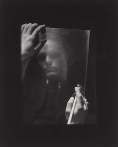 Josef Sudek | Portrait of the Painter Vaclav Sivko 1955 | Museum of Fine Arts, Boston