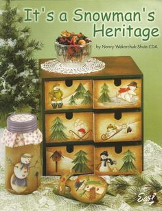 Its a Snowmans Heritage Decorative Tole Painting Craft Book