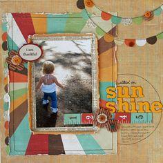 Project - Walkin' on Sunshine  by audreykit