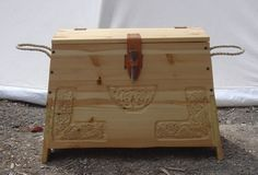 Viking Chest - Instructions included (German website)