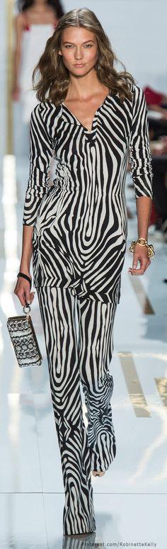 Diane von Furstenberg Spring 2014 RTW - Runway Photos - Fashion Week - Runway, Fashion Shows and Collections - Vogue New York Fashion, Fashion Week, Runway Fashion, High Fashion, Fashion Show, Womens Fashion, Fashion Design, Review Fashion, Diane Von Furstenberg