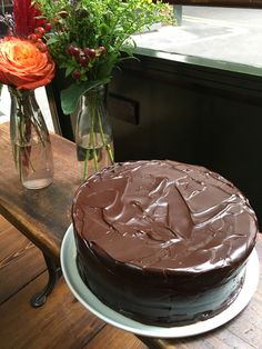 In light of Roald Dahl day, Borough Market Demo chef and baking expert Juliet Sear brings the infamous Matilda chocolate cake to life Matilda Chocolate Cake, Roald Dahl Day, Good Food, Yummy Food, Street Food, United Kingdom, Cake Recipes, Sweet Treats, England