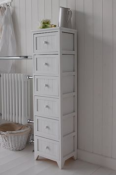 Bathroom Units Free Standing bathroom cabinet storage | white 4 drawer freestanding bathroom