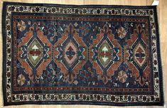 Classic Caucasian - 1880s Antique Kuba Rug - Tribal Oriental Carpet 3 x 4.10 ft. #Caucasian