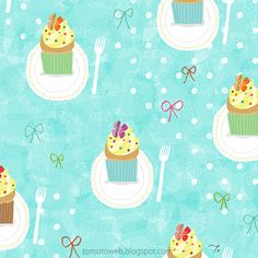 tomoto: Dreamy Cupcakes http://tomotoweb.blogspot.jp/2012/06/dreamy-cupcakes.html