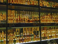 Things to do in Edinburgh: The world's largest collection of whisky at the Scotch Whisky Experience