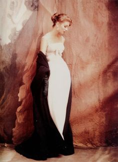 John Rawlings, Suzy Parker in Jacques Griffe, Vogue, 1953