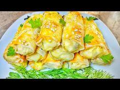 O gustoşenie pentru mic dejun, 15 minute şi sunt gata Spanakopita, Fresh Rolls, Cabbage, Deserts, Cooking Recipes, Party, Vegetables, Ethnic Recipes, Cookies