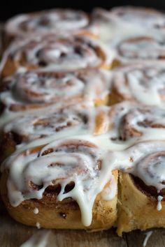 Quick Rise Cinnamon Rolls - use the microwave to get the dough to rise faster!