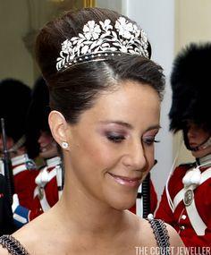 Princess Dagmar's Floral Tiara | The Court Jeweller
