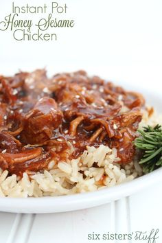 Welcome to Gabriel Atanbiyi Blog: Instant Pot Honey Sesame Chicken