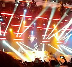 Godsmack 2014 1000hp tour stage ae pittsburgh pa
