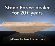 Jill helps you select the right natural stone, the right sink, manages the buying process. Jefferson's has worked with Stone Forest for years. Roman Bathroom, Stone Bathroom, Modern Bathroom, Romantic Bathrooms, Tiny Bathrooms, Stone Tub, Relaxing Bathroom, Black And White Tiles