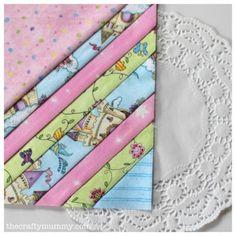Quilt block tutorial - foundation pieced, Pastel Stripes  #patchwork #quilting