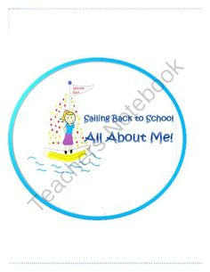 -Great first day back to school activity!  -Great for regular education and special needs students!  - Engaging activity for school and home. -Learn fun stuff about your students -Emergency contact and medical Information section included -Great for getti