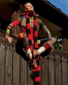 visual optimism; fashion editorials, shows, campaigns & more!: joy of pippi longstocking: anna selezneva by giampaolo sgura for vogue japan september 2015