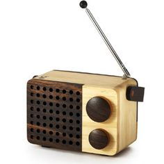 Areaware Magno Wooden Radio - Micro