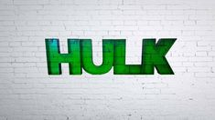 Check out this item in my Etsy shop https://www.etsy.com/uk/listing/580686593/3d-hulk-letters-green-and-black-220mm