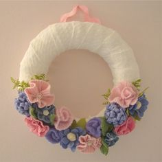 Custom Comforts: sweater wreath