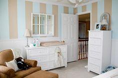 only decoration: Ειδικό Αφιέρωμα: Ρίγες στο βρεφικό δωμάτιο