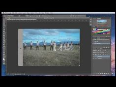 Lesson 32 - How to Extend the Background in Photoshop using Content Aware Fill - YouTube
