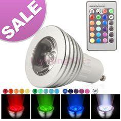 Gu10 Led Light Bulbs 3w