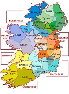 Each of Ireland's 32 counties has a unique identity, and each Irish county name has its own unique meaning. Discover the meaning of each of Ireland's 32 counties names, along with some fun facts. Buddhist Symbol Tattoos, Buddhist Symbols, Leprechaun Tattoos, Connemara Ireland, Top Of The Morning, Ireland Map, Irish Language, Maps For Kids, Name Tattoo Designs