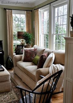 Living Room Makeover - The Lovable Home - .- Living Room Makeover – Das liebenswerte Zuhause – Living Room Makeover – The Lovable Home – - Cozy Living Rooms, Home Living Room, Living Room Designs, Living Room Decor, Apartment Living, Dining Room, Bedroom Decor, Wall Decor, Home Decor Styles