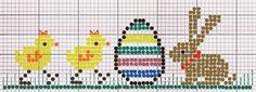LA DIESSE DEL '67: CONIGLIO OVETTO E PULCINI CON FIOCCO #broderie #cross_stitch #embroidery #esquema #free _Cross_Stitch_Pattern #free_pattern #grille_ gratuite #kreuzstich #Küken #pascua #pasqua #point_de_croix #poussin,#primavera #pulcino #punto_ croce