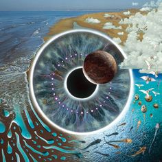 Pink Floyd Pulse album cover designed by Storm Thorgerson