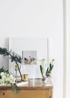 beautiful and clean winter decoration (@Suvi sur le vif)