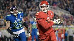 Chiefs' Travis Kelce named MVP as AFC top NFC in Pro Bowl
