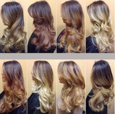10 Ideas for Balayage on Straight Hair – Stylish Hairstyles Ombre Hair Color, Cool Hair Color, Balayage Color, Hair Colors, Hombre Hair, Balayage Straight Hair, Cabello Hair, Colored Curly Hair, Hair Color Techniques