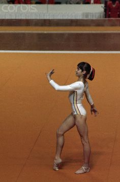 Nadia Comaneci at Olympics