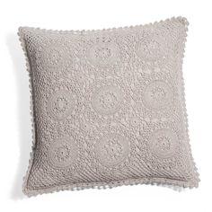 Fodera cuscino Uncinetto grigia