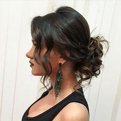 Lindo coque despojado #coque #coqueando #hair #penteadox #penteadosdivas…