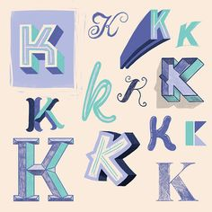 A hand lettering project I completed to create a different character in the alphabet a day for 36 days. Graffiti Lettering Fonts, Hand Lettering Alphabet, Typography Love, Creative Typography, Lettering Styles, Vintage Typography, Typography Letters, Typography Inspiration, Lettering Design