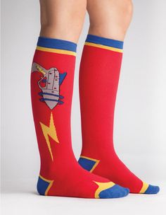 Raygun Women's Knee Socks by Sock It To Me