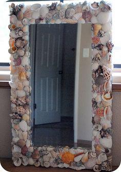 Seashell Mirror T;