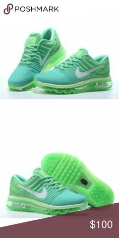b1a4aae8e1241 Nike air max Nike air max They are green and brand new in the box Nike Shoes  Athletic Shoes