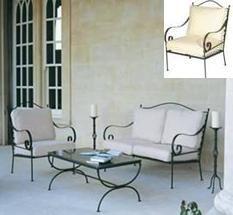 comparatif fauteuil de salon en fer forge   Fauteuil salon ...